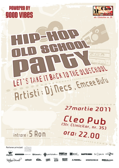 HIP-HOP OLD SCHOOL PARTY