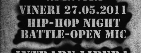 HipHop Night Battle Open Mic