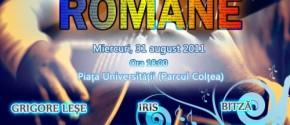 Ziua Limbii Romane 31 August 2011 Parcul Coltea / Universitate Bucuresti