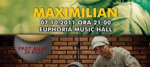 Maximilian & Camuflaj @ Cluj-Napoca Euphoria Music Hall 2011