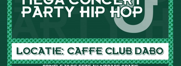 Mega concert & Party hip hop Caffe Club Dabo Bistrita 12 Octombrie 2011 Rohiphop