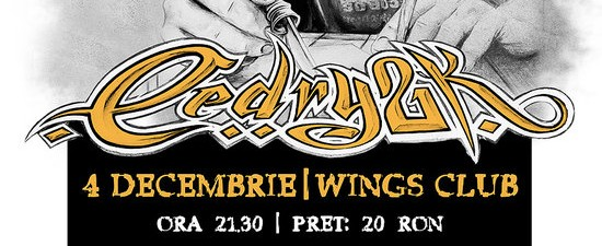 Cedry2k 4 Decembrie 2011 Club Wings Bucuresti Rohiphop