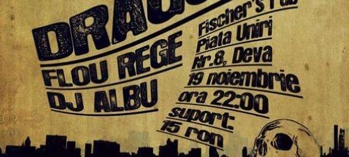 Concert Dragonu Fischer's Pub Deva 19 Noiembrie 2011 Rohiphop