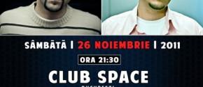 JerryCo & Mario V Club Space 26 Noiembrie 2011 București