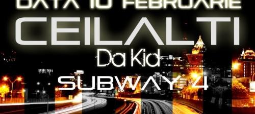 Concert Ceilalti Subway 4 Bacau 10 Februarie 2012 Rohiphop