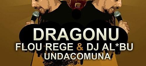 Dragonu' Flou Rege DJ Albu UndaComuna 18 Februarie 2012 Chisinau Rohiphop