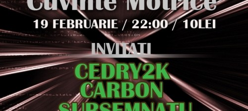 Concert Lansare Stripes Cuvinte Motrice Elephant Pub 19 februarie 2012 Bucuresti Rohiphop