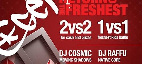 Get Fresh 4: Bboy Battle & Funky Breaks Party Rohiphop