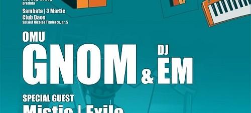 Omu Gnom Club Daos Timisoara  3 Martie 2012 Rohiphop