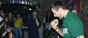 Dragonu', Flou Rege şi Dj Al*Bu @ 10 martie Club Nerv Arad ©2012 Rohiphop
